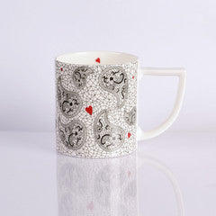 New English Bone China Mugs