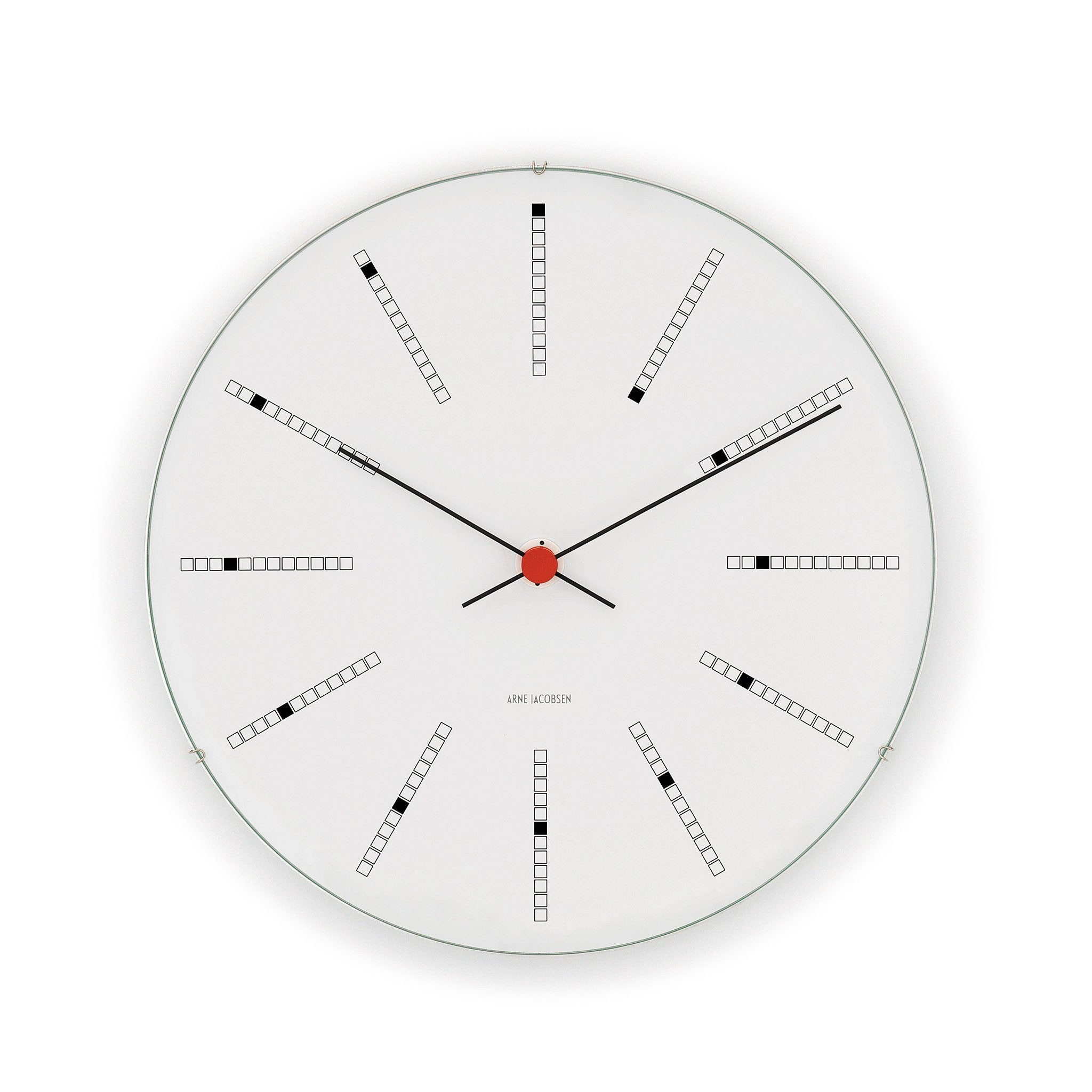 Arne Jacobsen Bankers Wall Clock, 6.3""