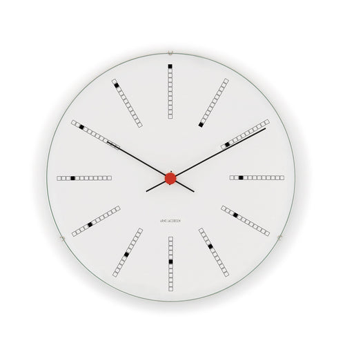 Arne Jacobsen Bankers Wall Clock, 11.4""