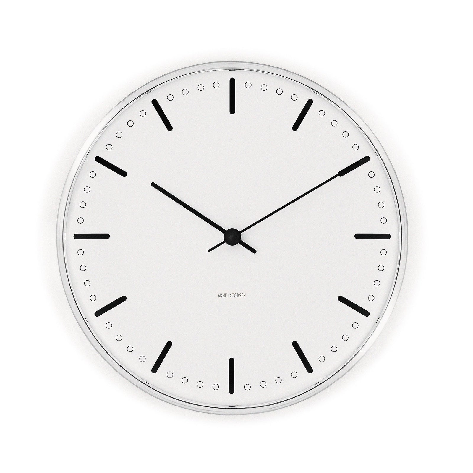 Arne Jacobsen City Hall Clock, 6.3""