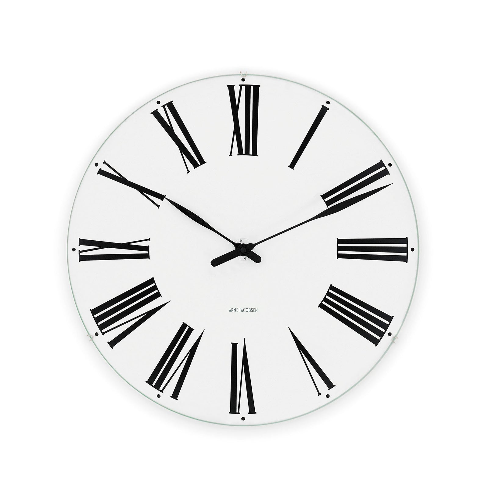 Arne Jacobsen Roman Wall Clock, 6.3""