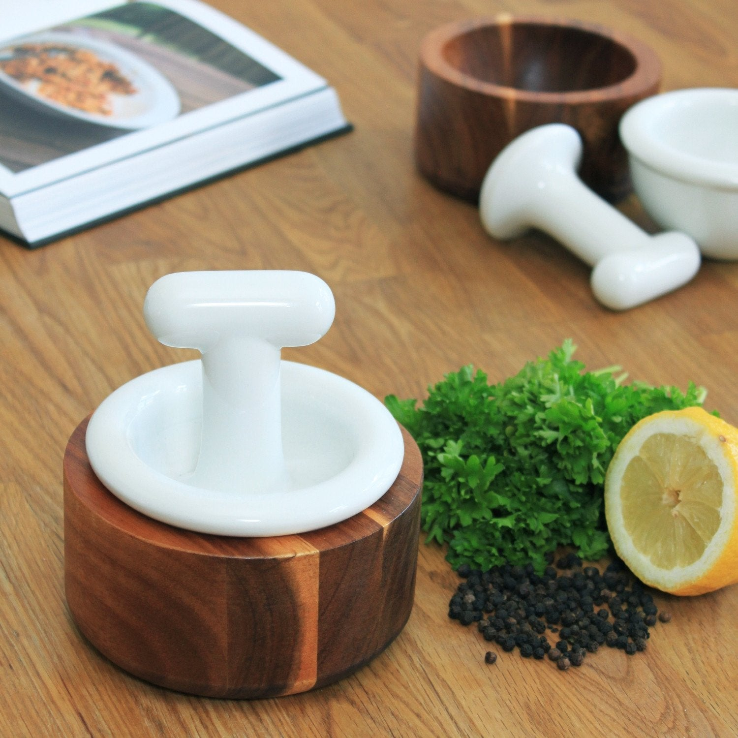 Tonfisk Mortar and Pestle