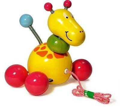 Baby Paf the Giraffe pull toy