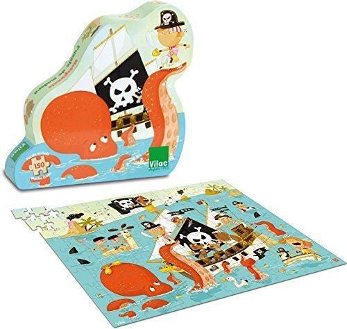 Pirate wood puzzle