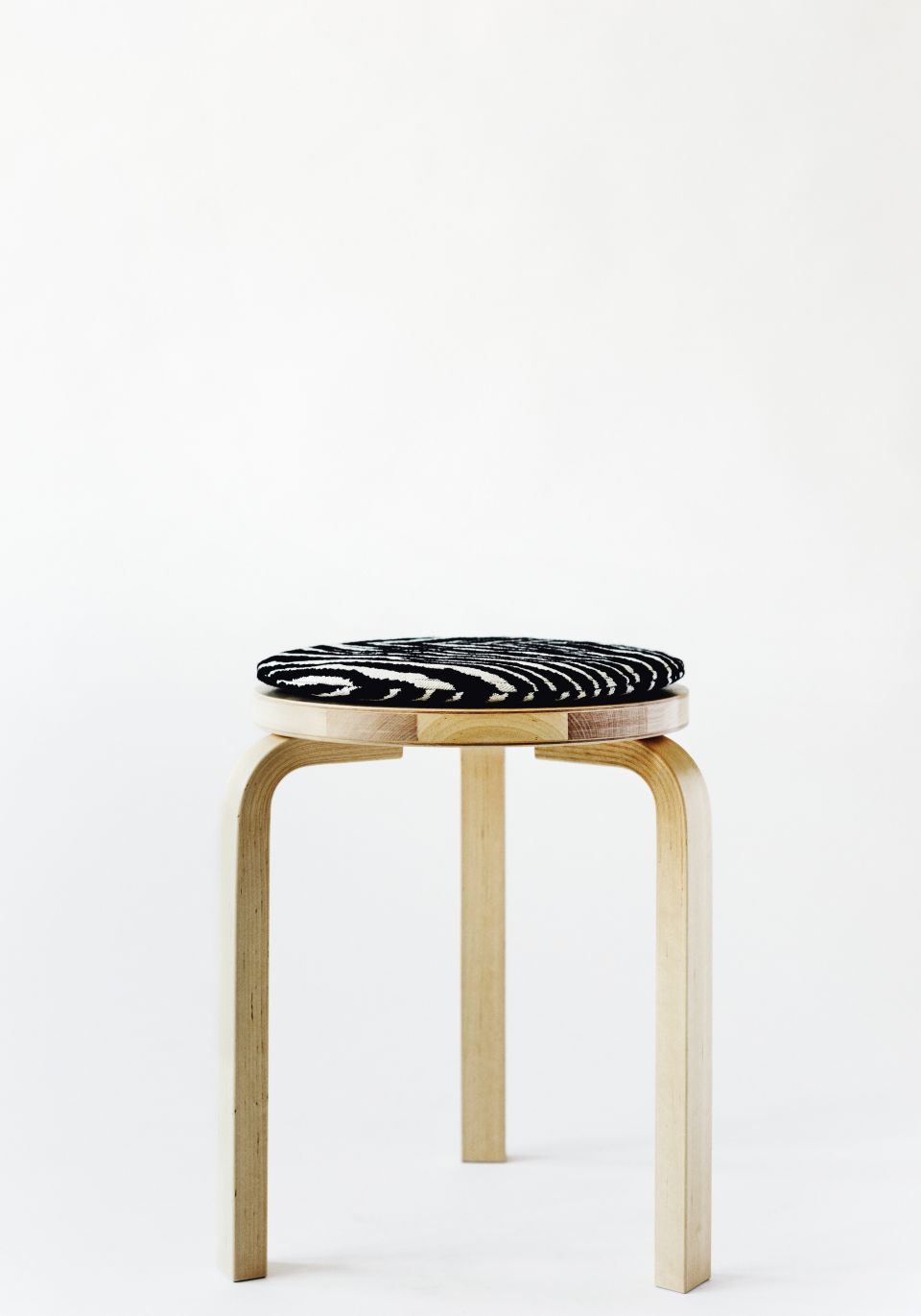 Aalto Artek Zebra Cushion / Pillow Seat Cushion
