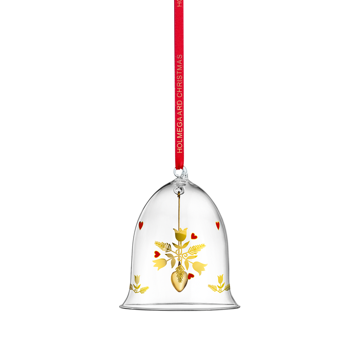 Ann-Sofi Romme Annual Christmas Bell 2020 Clear Large