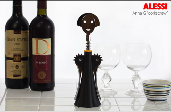 Anna G corkscrew black