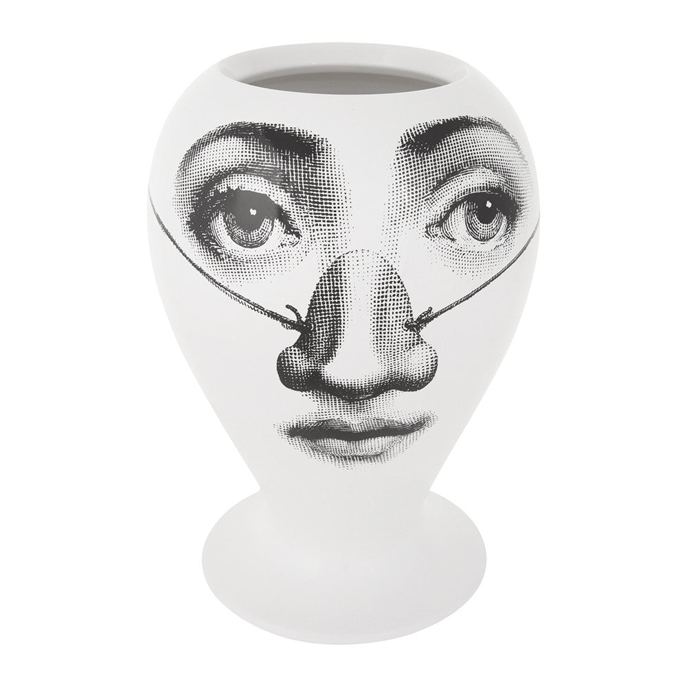 Fornasetti limited edition vase / jar Burlone Nose