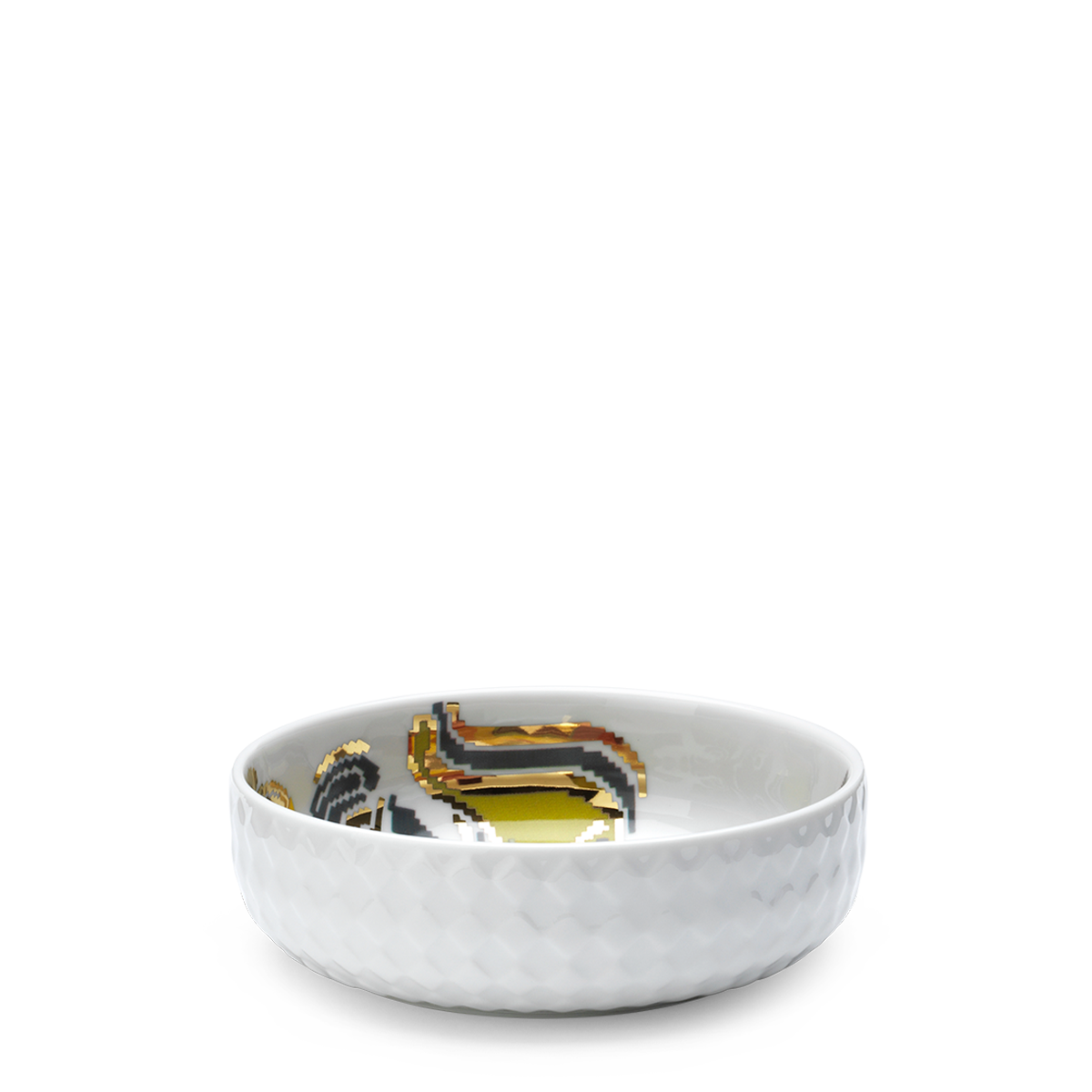 Bjørn Wiinblad Gobelin Bowl Multicolor, Ø 16 cm