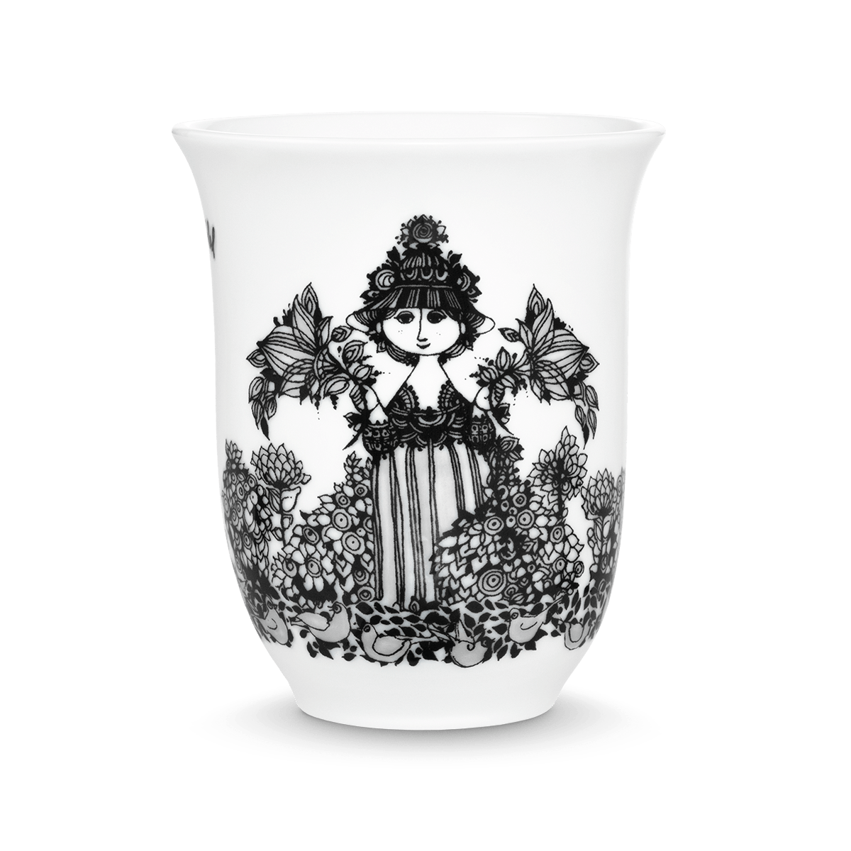 Bjørn Wiinblad  Cecilia Thermo Cup  Black, 31 cl