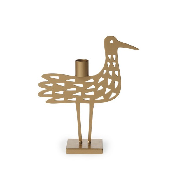 Bengt & Lotta - Shorebird Dot Candle Holder Metallic