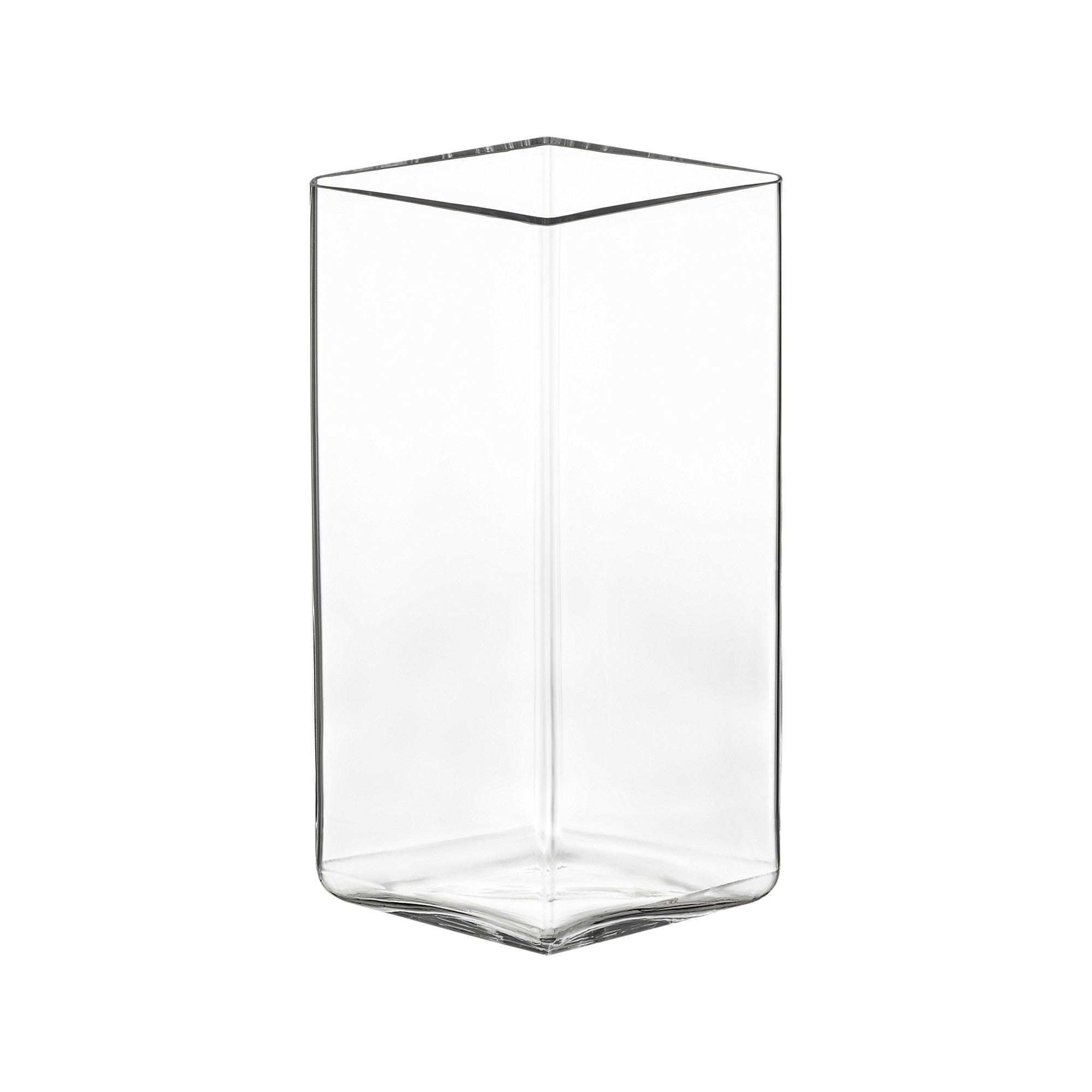 "Ruutu vase 115 x 180 mm / 4.5""x7.25"" clear"