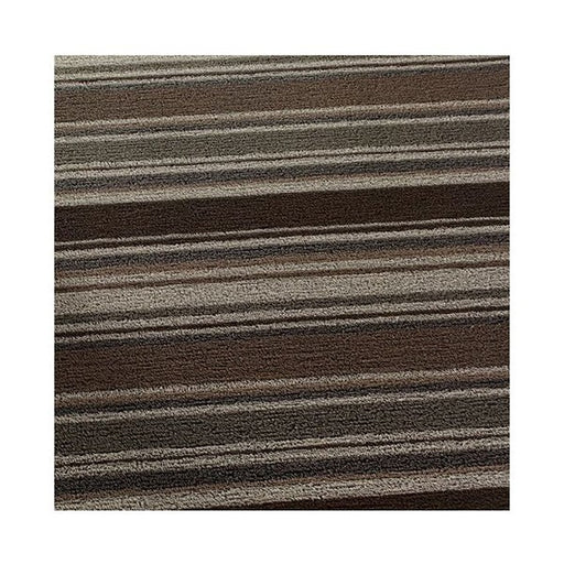 "Chilewich Shag Mixed stripe Oak (utility 24""x36"")"