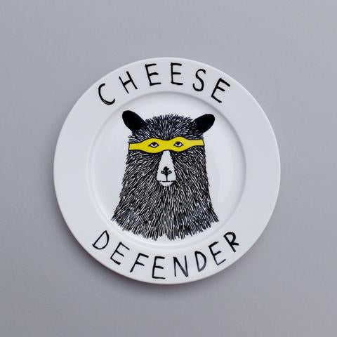 'Cheese Defender' Side Plate