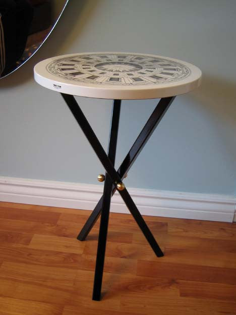 Fornasetti table 36 cm small side table cortile