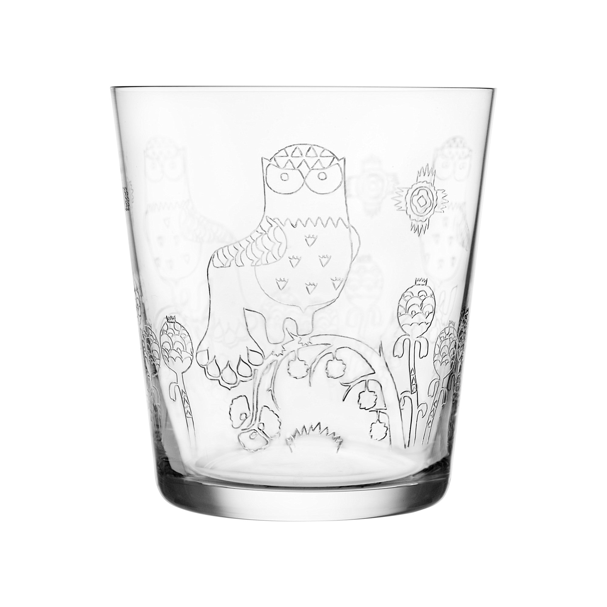 Taika glass 38 cl 2 pcs clear tumblers 13oz