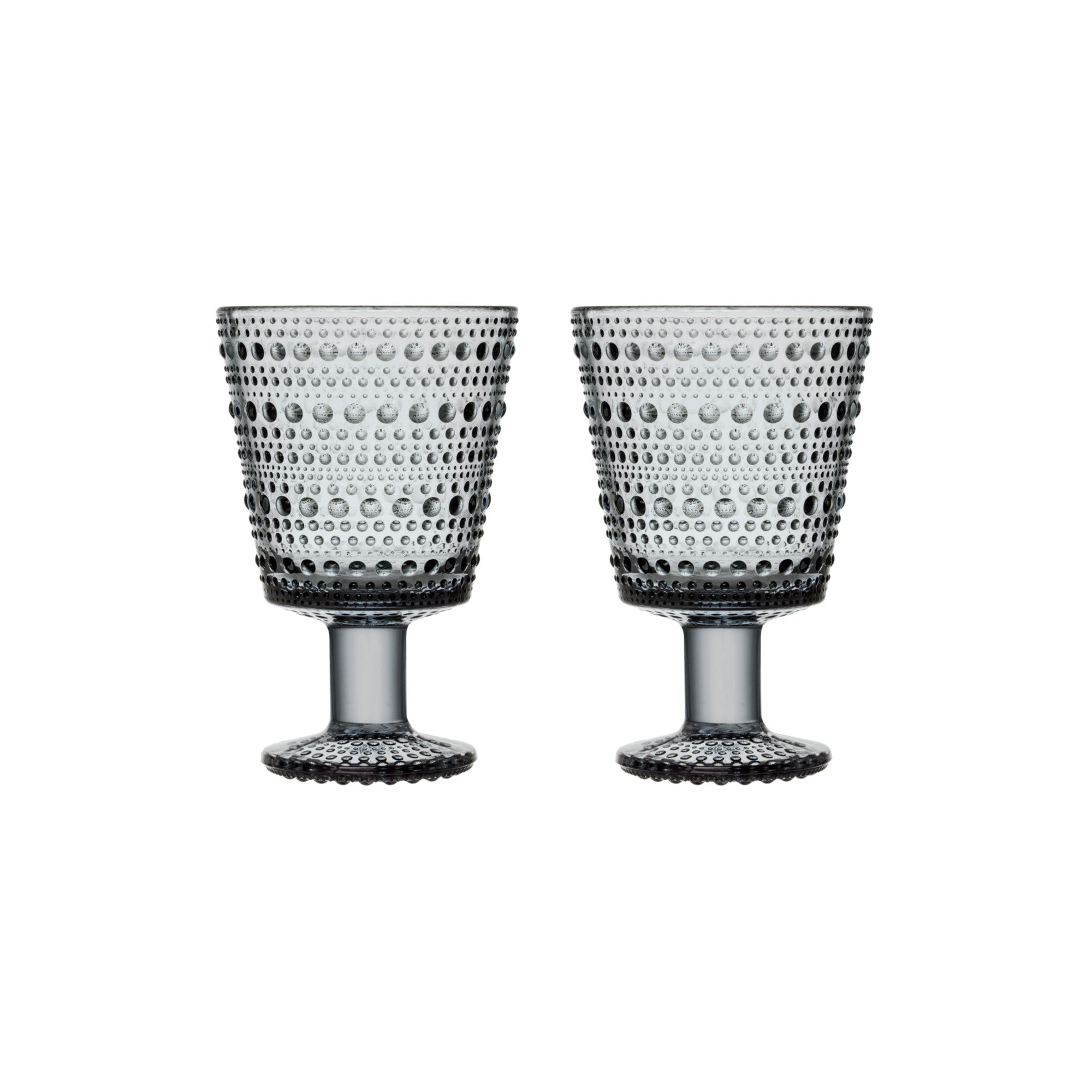 iittala Kastehelmi Universal glass stemmed (set of two) 64mm