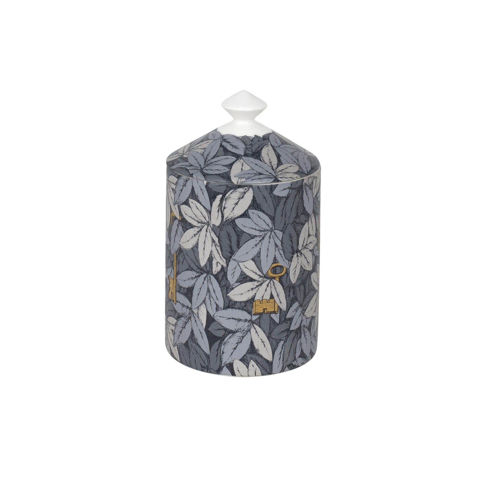 Fornasetti candle Foglie Gold keys 300g