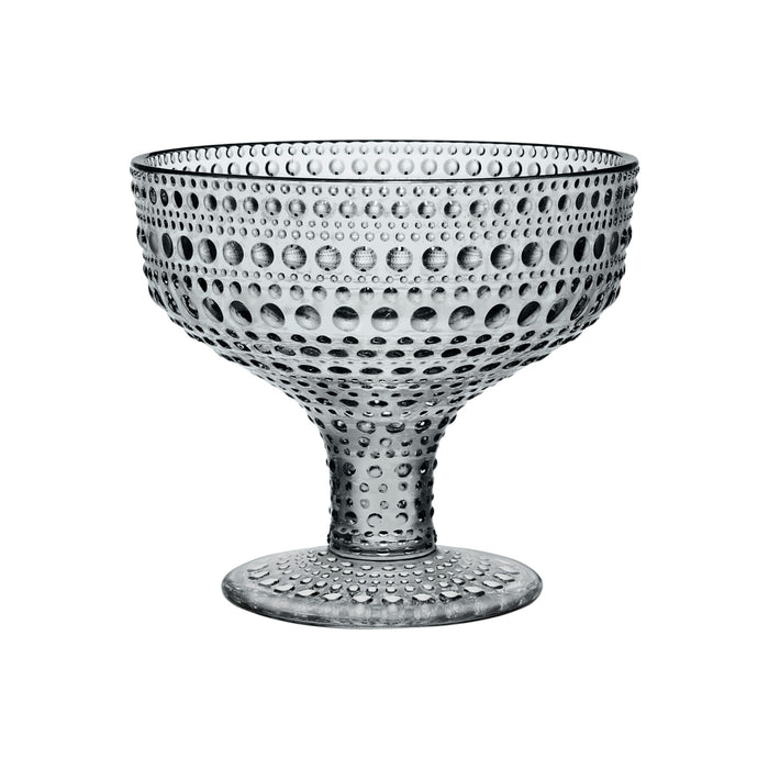 iittala Kastehelmi glass footed bowl ,35 l