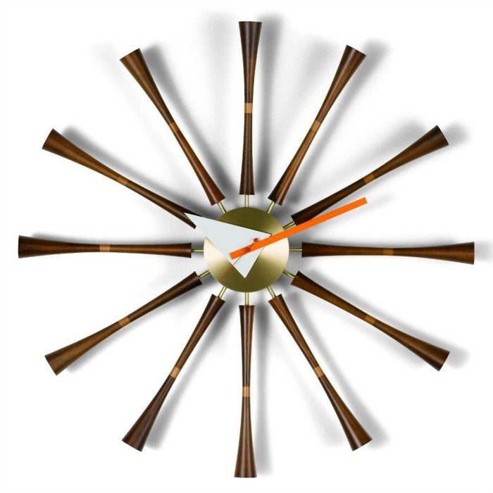 Spindle clock by George Nelson for Vitra