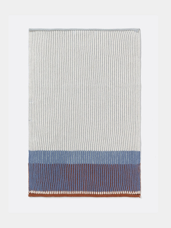 Frem living Akin Knitted Hand Towel - Dull Blue