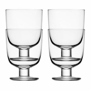 iittala Lempi stackable wine glasses