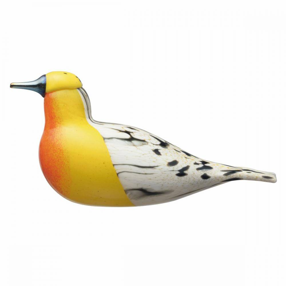iittala bird by Toikka, BLACKBURNIAN WARBLER