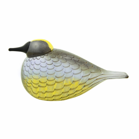 iittala bird by Toikka Yellow Rumped Warbler *