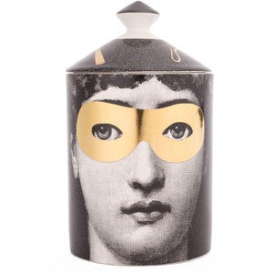 Fornasetti candle Golden Burlesque (GOLD) 300g