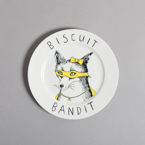 'Biscuit Bandit' Side Plate