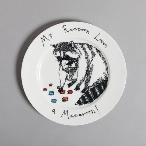 'Mr Raccoon' Side Plate