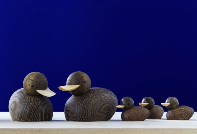 Skjode Duck family for Lucie Kaas