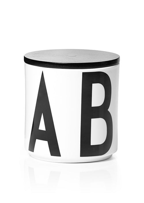 Arne Jacobsen ABC Design Letters porcelain cup Multi Jar with lid