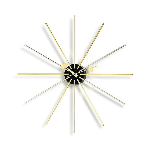Star clock by George Nelson for Vitra
