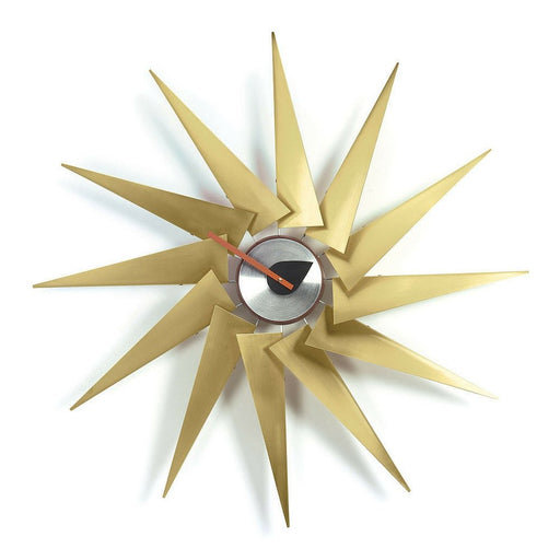 Turbine clock by George Nelson for Vitra