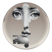 Platinum Fornasetti plate Theme & Variations series no pt047