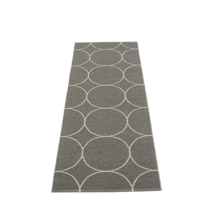 Pappelina rug 200 x 70cm Boo Charcoal