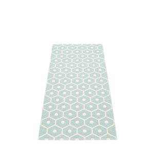 Pappelina rug 160 x 70cm Honey Pale Turquoise