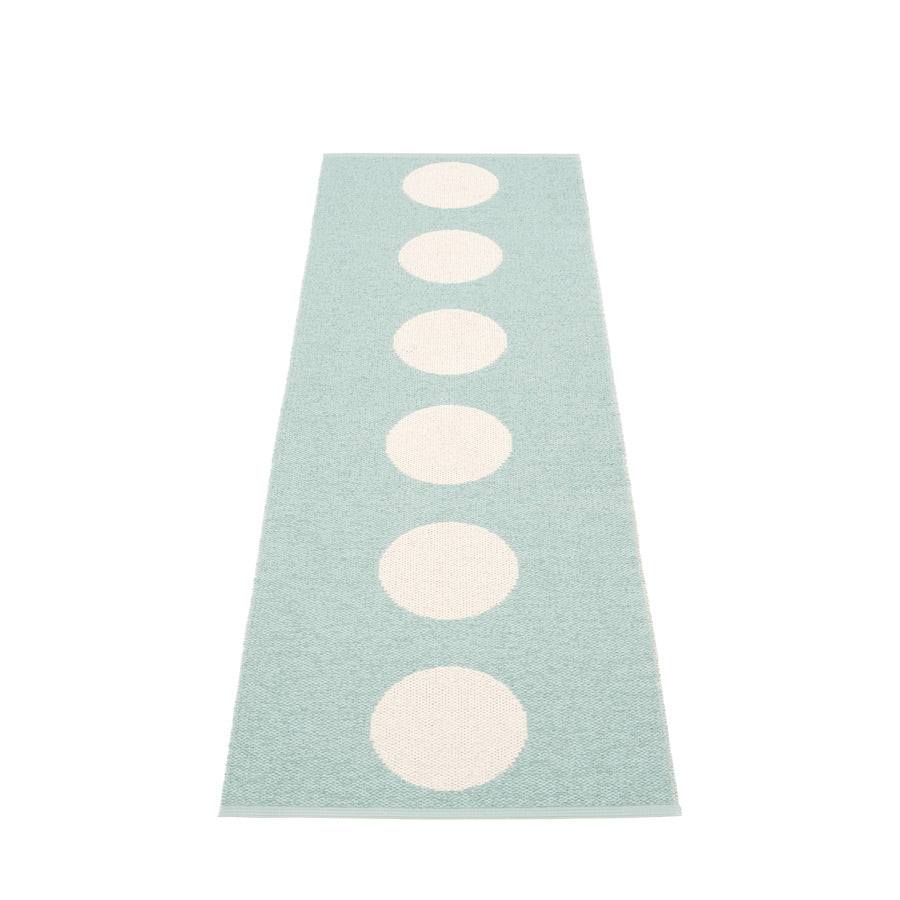 Pappelina rug 225 x 70cm rug  Vera Turquoise