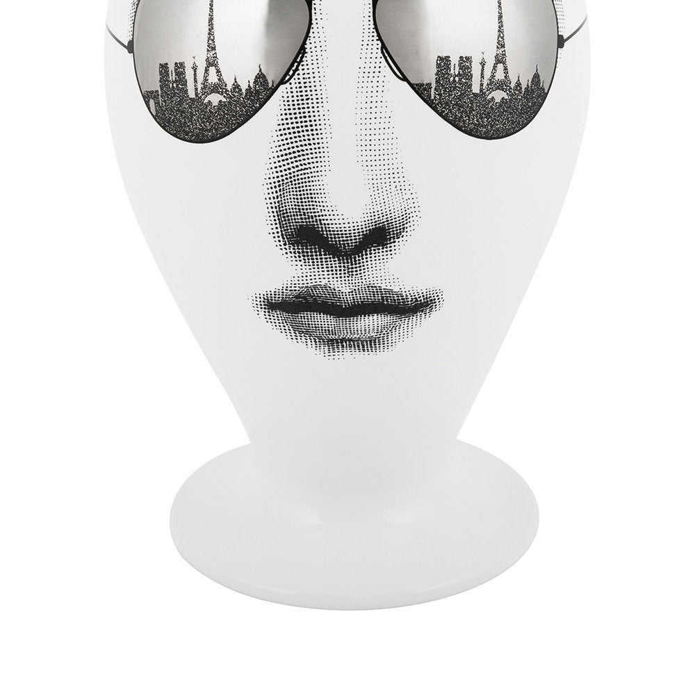 Fornasetti limited edition vase / jar Paris aviator