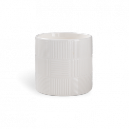 Nanna Ditzel Flower Pot, White, 14cm
