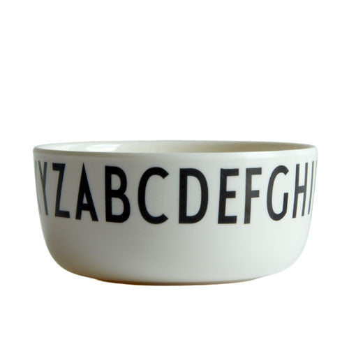 Arne Jacobsen ABC Design Letters Melamine bowl