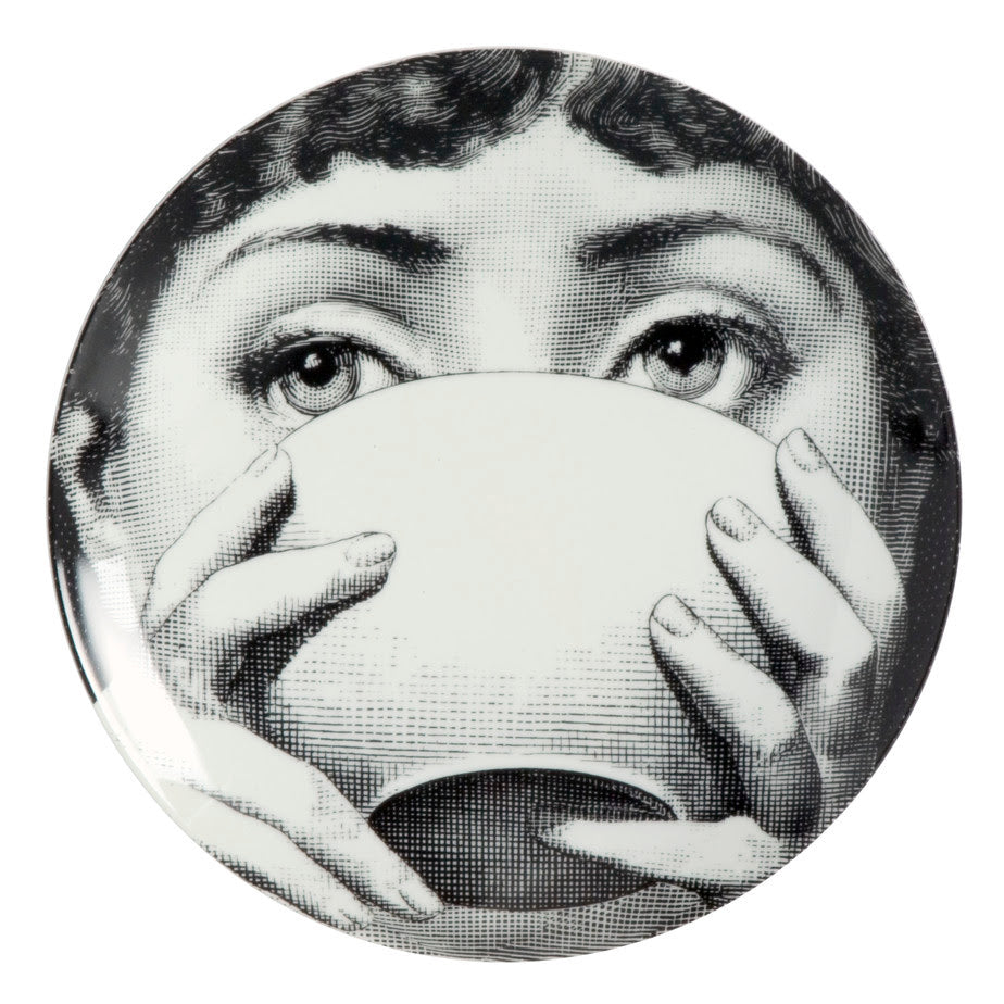 Fornasetti plate Theme & Variations series no 191