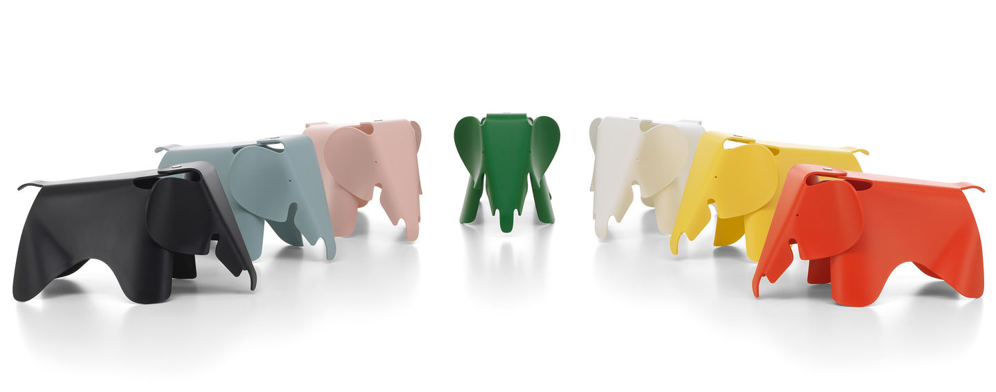 Eames elephant small by Vitra