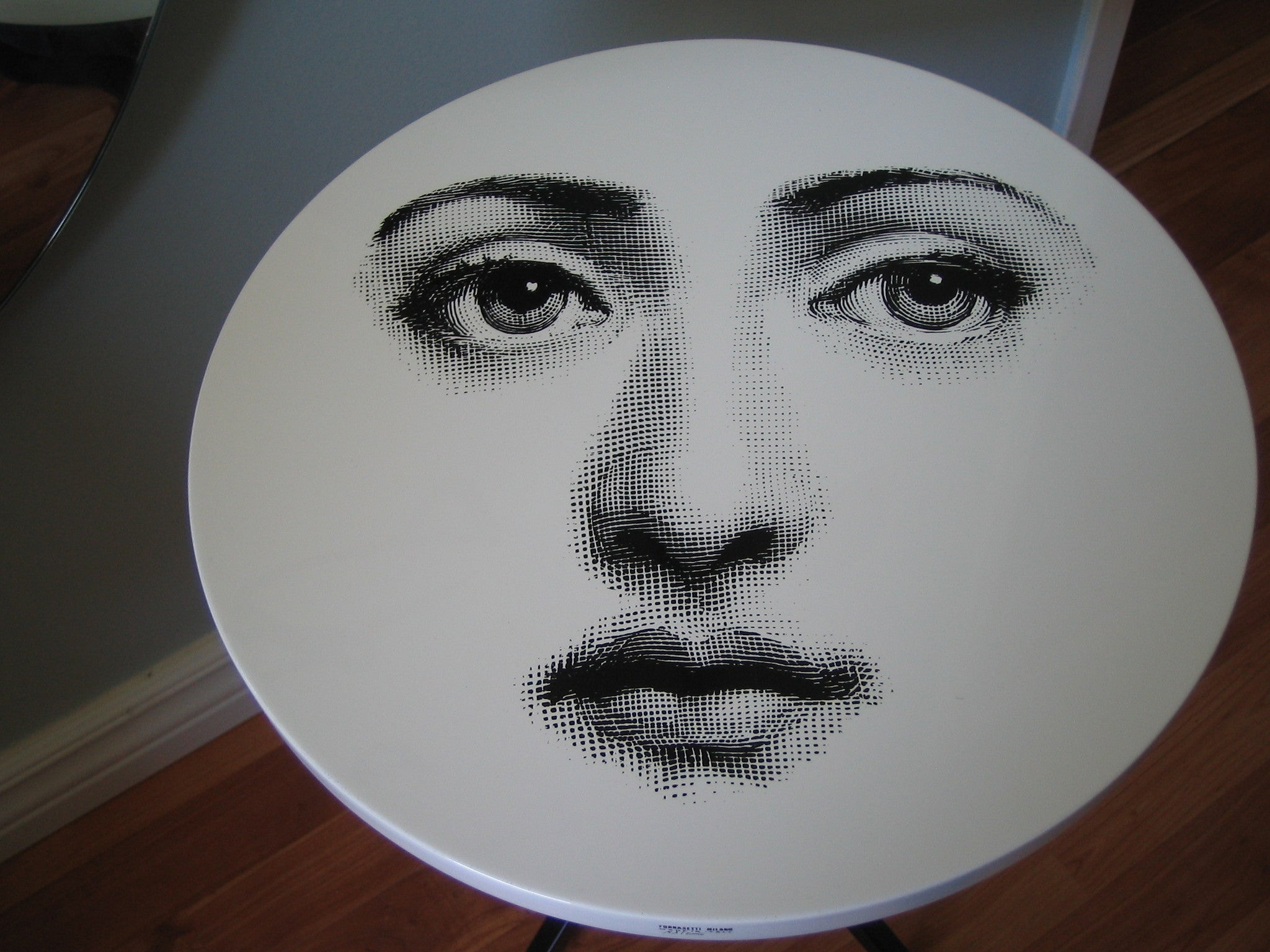 Fornasetti table 36 cm small side table viso 6