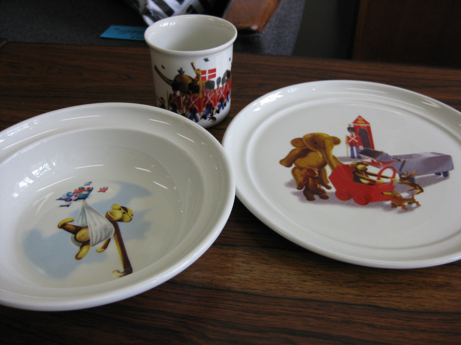 Kay Bojesen Dish Set from Denmark