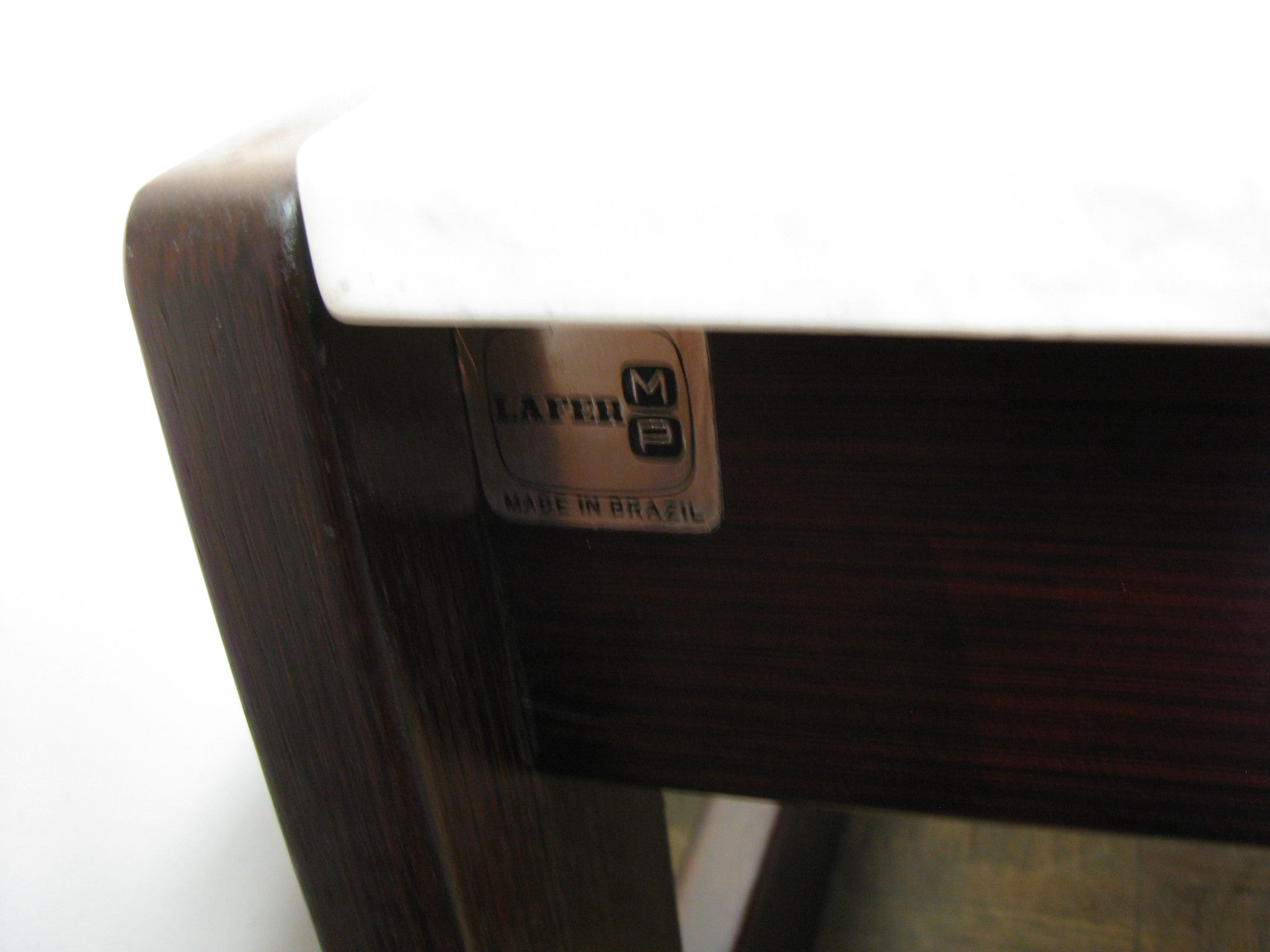 Pair Percival Lafer Rosewood end tables
