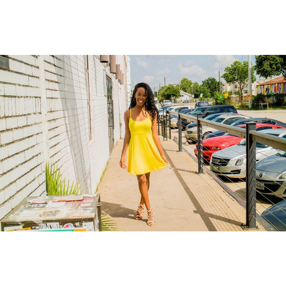 Sunflower | Spaghetti Strap Dress