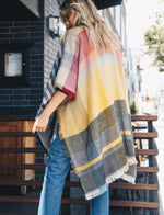 Cozy Up | Poncho Sweater