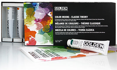 GHB SET Color Mixing-Classic Theory (Golden)